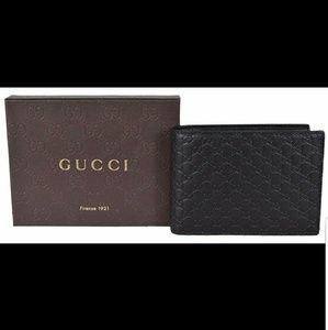 Gucci Bags - Gucci Men's GG Guccissima Large Leather Bifold